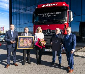 Mercedes-Benz: 500. pojazd we flocie firmy Batim to Actros