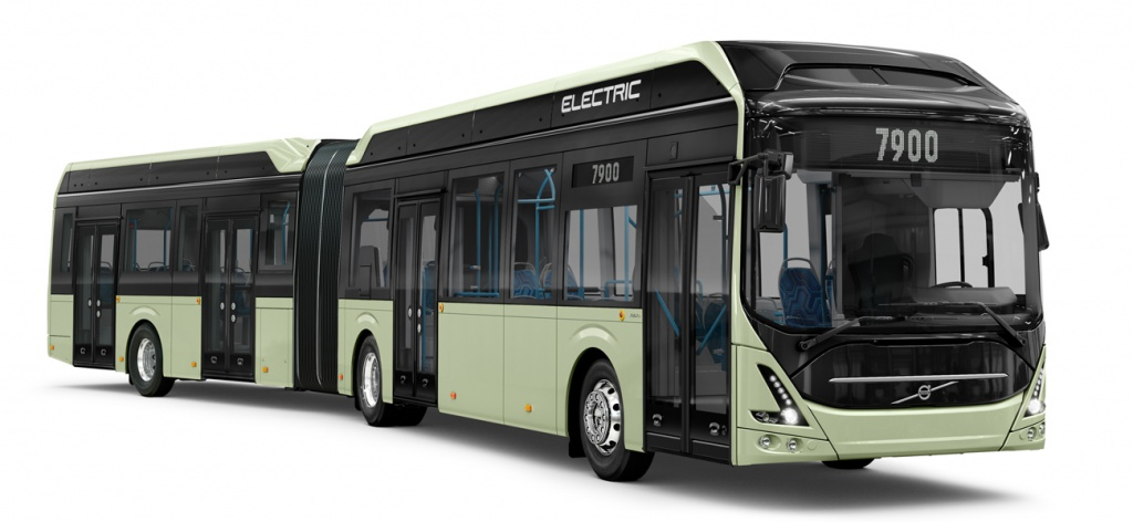 Volvo 7900 Electric Articulated.