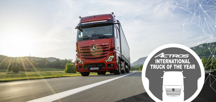 """MERCEDES-BENZ: Nowy Actros – """"Truck of the Year 2020"""""""