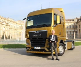 "MAN: Nowy MAN TGX z tytułem ""International Truck of the Year 2021"" (ITOY)"